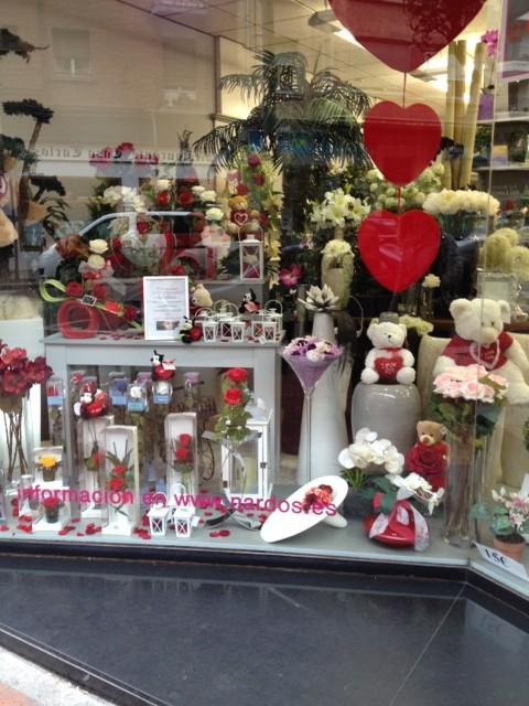 Escaparates San Valentín