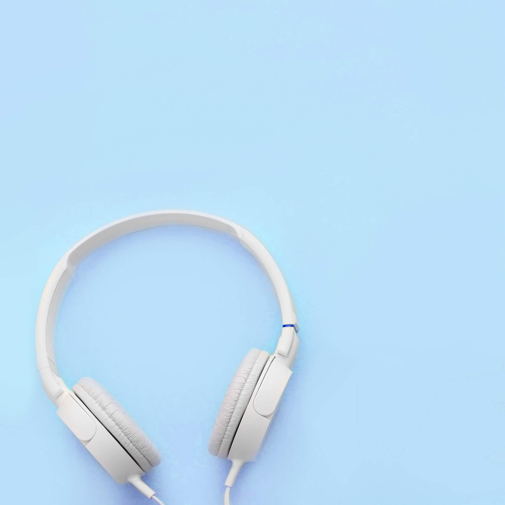 radio azul tiny